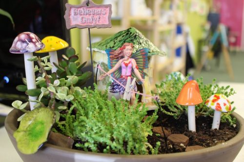 Fairy or Gnome Homes Clay Building- Mon, Apr 2nd $45
