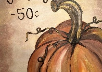 Pumpkin Patch Canvas Painting Night Sat, Nov 04 6-8 pm 1