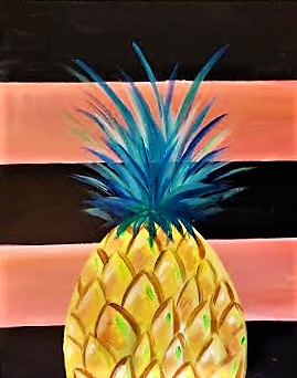 Pineapple Portrait July 6th, 6:00-8:00 PM 1
