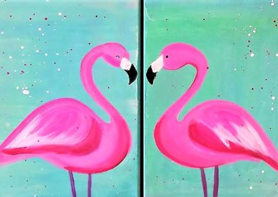 Pink Passion 2 Person Split Painting April 21st 6-8pm