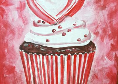 Valentine Cupcake Sat, January 28th and Sat, February 11th
