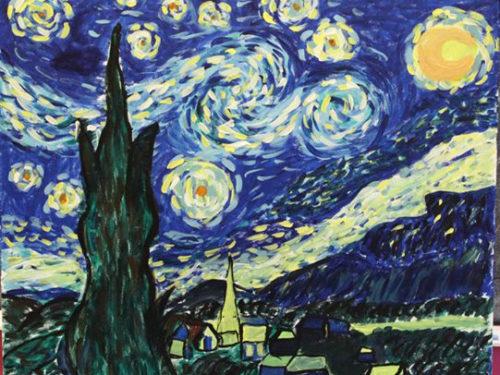 Starry Night Paint Night