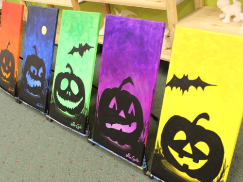 Family Canvas Painting Night (Jack-o-Lanterns) Sat, Oct 7th 6-8 pm