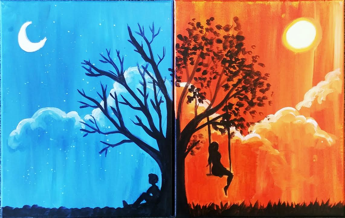 Always Thinking of You, Split Paint Night for two. Sat., Dec. 23rd 6-8pm