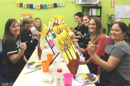Pink Passion 2 Person Split Painting April 21st 6-8pm