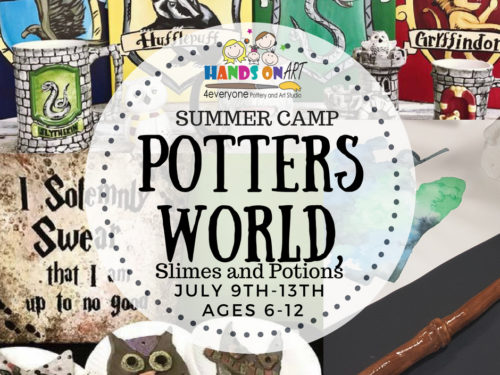 Potters World July 9th to 13th