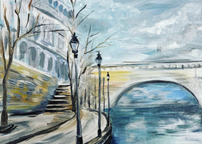 Seine River, Med difficulty, Jan 31st 6-8 PM